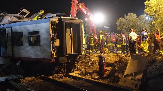 Zwarte doos van verongelukte trein Italië gevonden