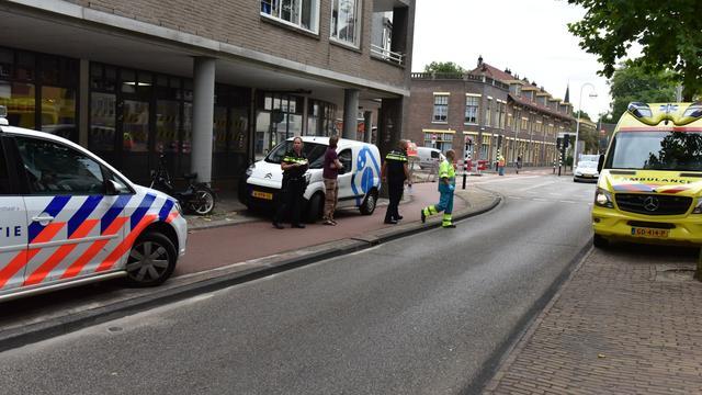Vrouw gewond op de Sint Jorissteeg