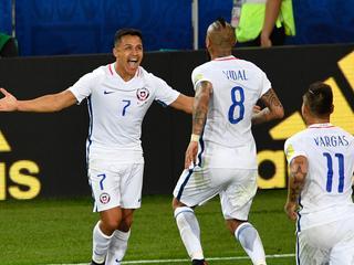 Vidal en Vargas bezorgen de Zuid-Amerikanen goede start