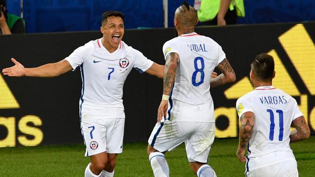 Chili in slotfase langs Kameroen op Confederations Cup
