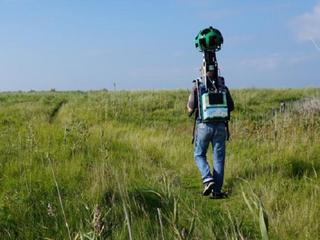 Vrijwilligers liepen met Google-camera door natuurgebieden voor beelden