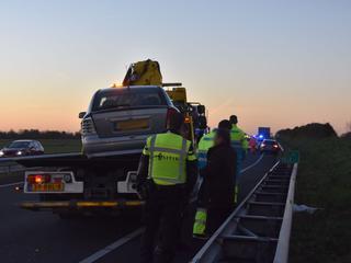 Bij het ongeval is niemand gewond geraakt