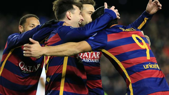FC Barcelona-AS Roma (6-1)
