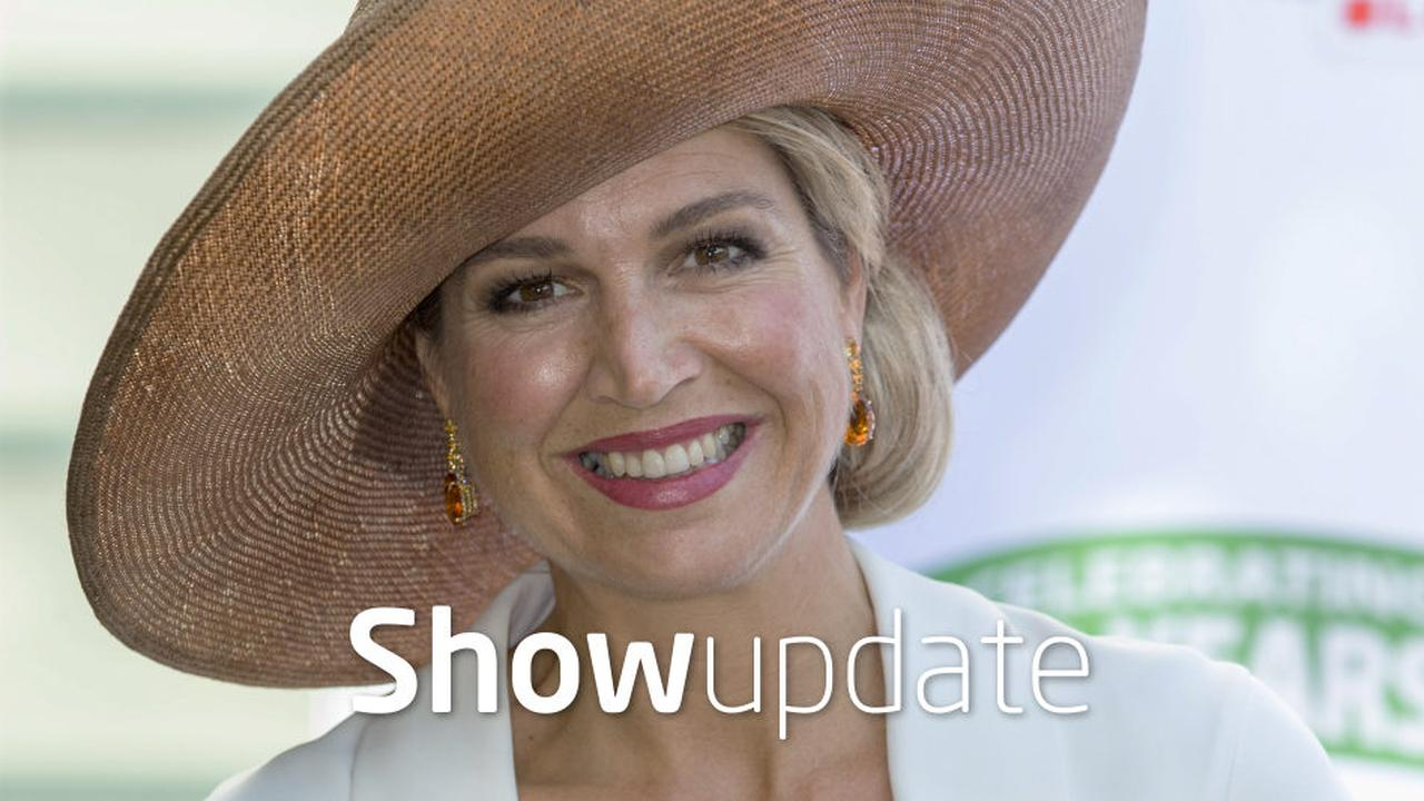 Show Update: Koningin Maxima te bloot gekleed?