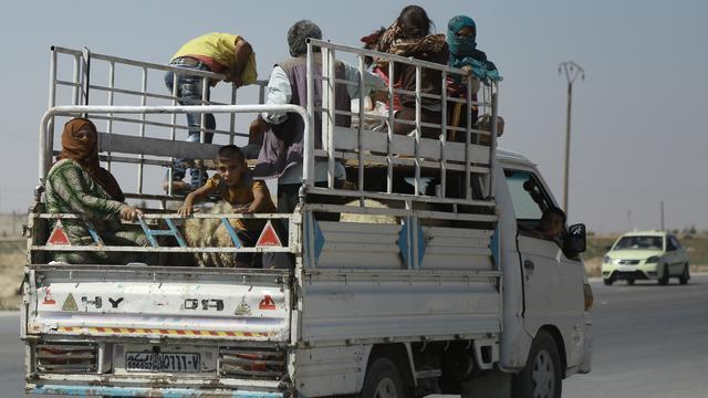 Duizenden burgers uit Syrische Hasakah geëvacueerd om luchtaanvallen