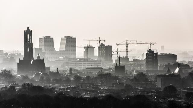 Fotoserie toont Utrecht vanuit de hoogte