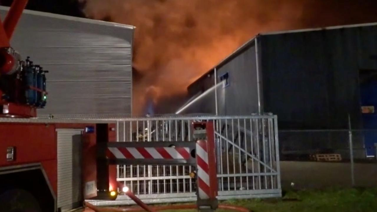 Grote brand in Staphorst