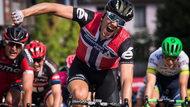 Dagzege Boasson Hagen in Dauphiné, Mollema blijft in top tien