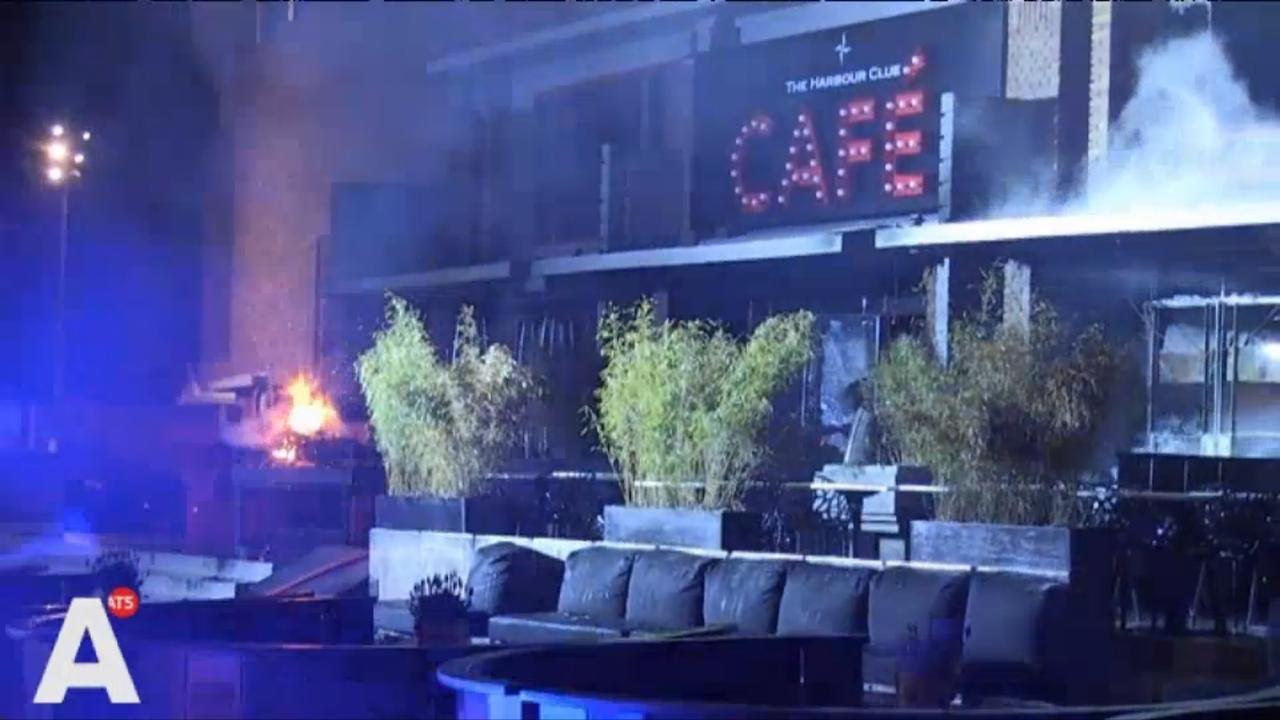 Café The Harbour Club in Olympisch Stadion verwoest door brand