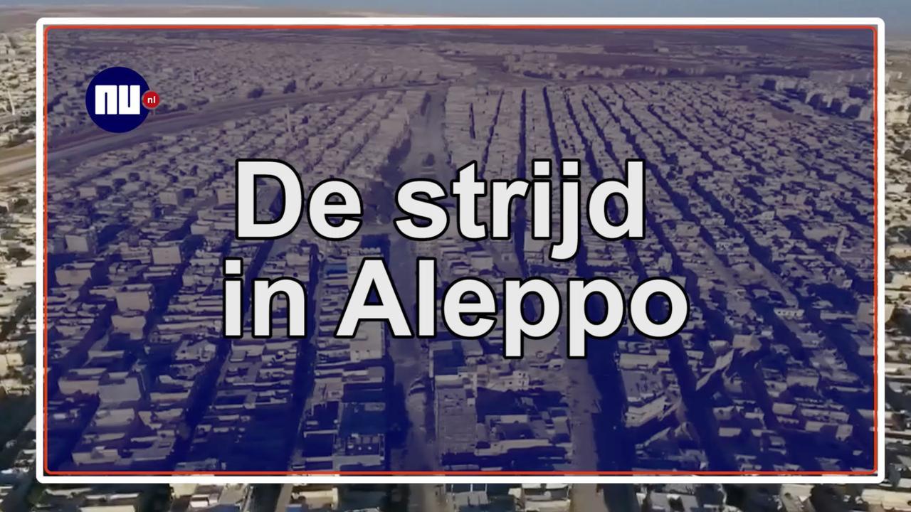 Overzicht: De strijd in Aleppo