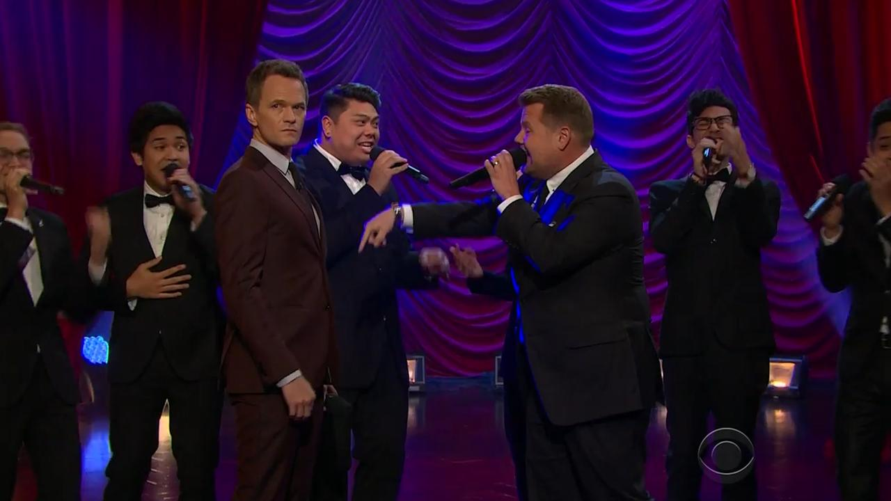 Neil Patrick Harris daagt James Corden uit voor Broadway-battle