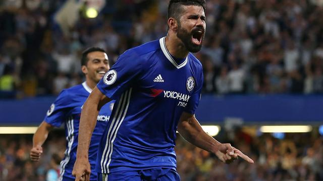 Diego Costa bezorgt Chelsea late zege op West Ham United