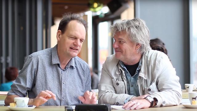 Vincent Bijlo en Jeroen Wielaert krijgen eigen talkshow in TivoliVredenburg