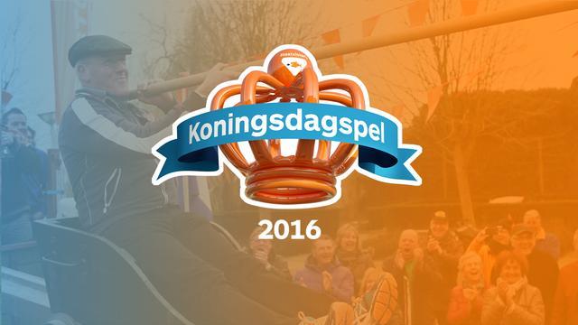 Tonnetje steken genomineerd voor titel 'Koningsdagspel 2016'