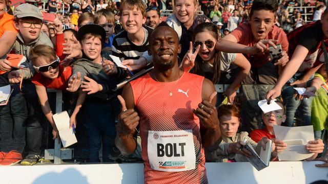 Geblesseerde Bolt nog niet zeker van deelname aan Olympische Spelen