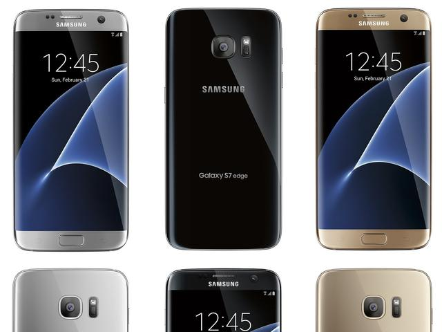 Galaxy S7 Edge komt mogelijk in drie kleuren