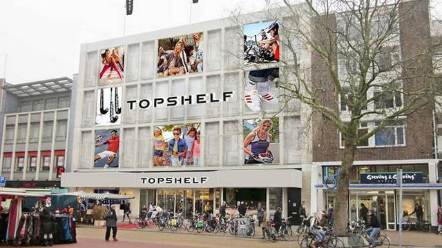 Topshelf opent de deuren in voormalige pand V&D