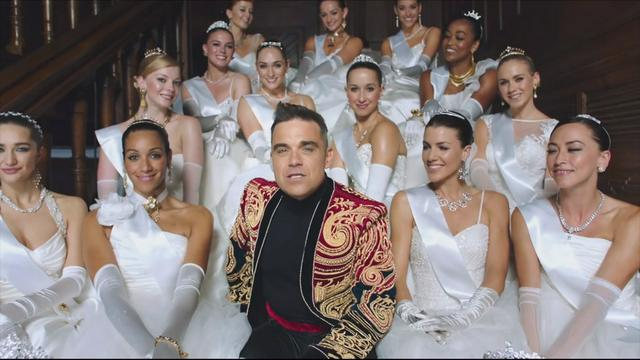 Nieuwe clip Robbie Williams: Party Like a Russian