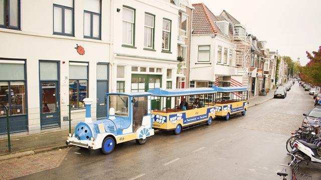 Hup-on hup-off treintjes rijden nog tot en met zondag door de stad