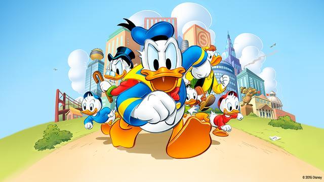 Donald Duck houdt vergeten woorden graag in leven
