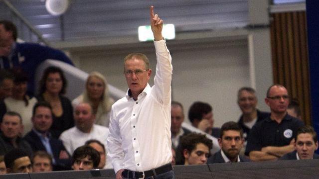 Casteels stopt als coach bij ZZ Leiden Basketball