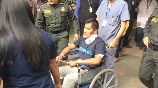 Overlevende vliegtuigramp ontslagen uit het ziekenhuis in Colombia