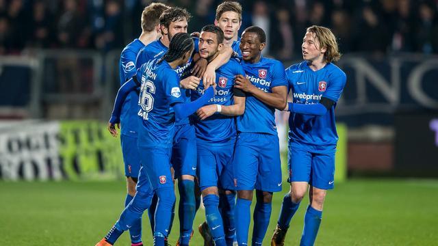 Ziyech helpt Twente aan nipte zege, Heracles en FC Utrecht spelen gelijk