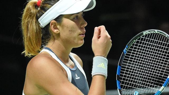 Muguruza en Kvitova naar halve finales WTA Finals