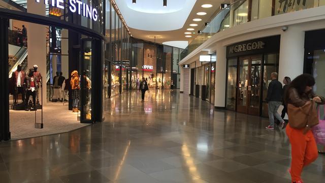 'Alle winkels Barones voor opening Hudson's Bay verhuurd'