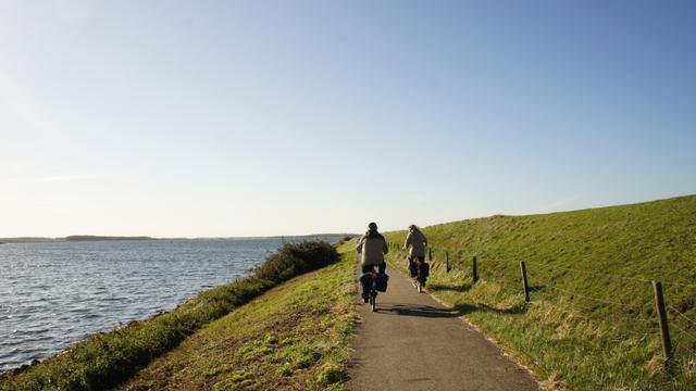 Reimerswaal onderzoekt aanleg fietspad langs dijk bij Krabbendijke