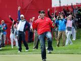 Fan daagt olympisch golfkampioen uit