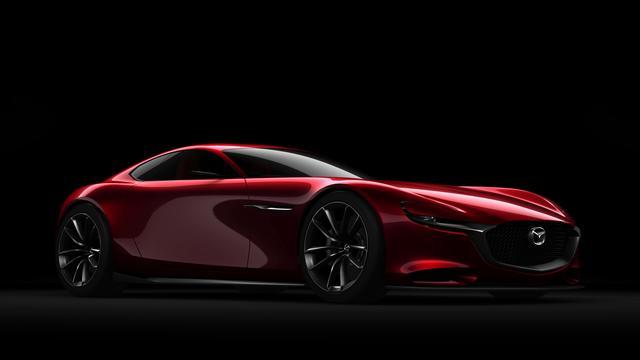 Mazda presenteert RX-Vision met wankelmotor