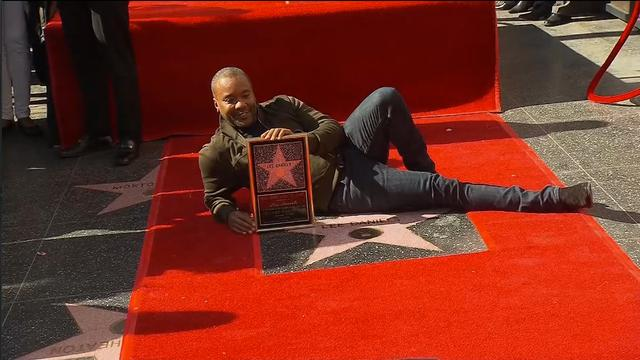 Regisseur Empire krijgt ster op Walk of Fame in Hollywood