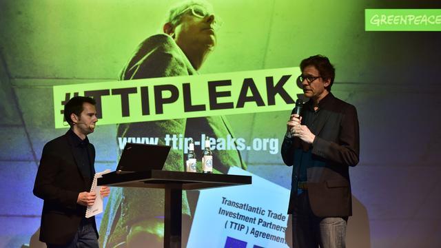 Greenpeace: TTIP onmiddellijk stoppen