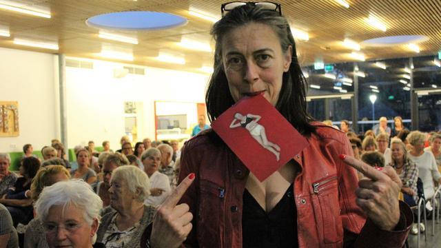 Adelheid Roosen houdt bijeenkomst over Alzheimer
