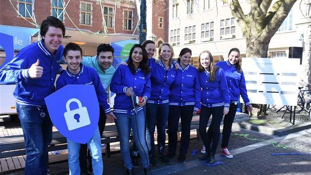 Google start Privacy Tour in Leiden