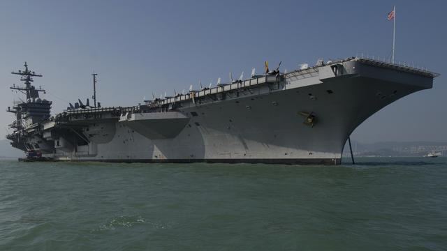 Noord-Korea dreigt met aanval op vliegdekschip VS