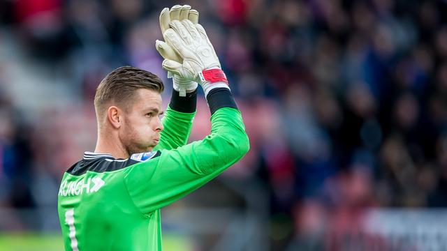 Doelman Ruiter vertrekt na vijf jaar bij FC Utrecht