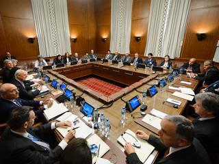 Partijen praten nog niet rechtstreeks met elkaar in Genève