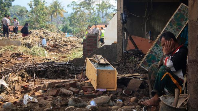 Zeker twintig doden door overstroming Indonesië