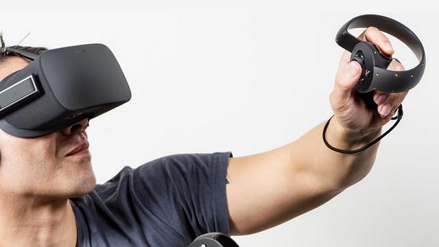 Oculus stelt release touch-controllers voor VR-bril Rift uit