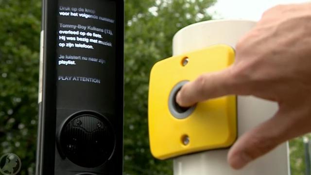 Verkeerslicht in Rotterdam waarschuwt met playlist van overleden jongen