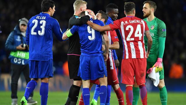 Samenvatting Leicester City-Atletico Madrid (1-1)