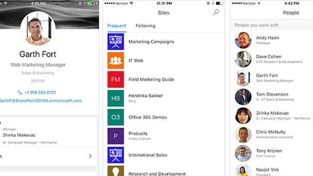 Microsoft brengt SharePoint-app uit voor iOS