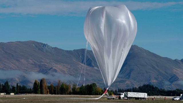 NASA stuurt gigantische ballon ruimte in vanuit Nieuw-Zeeland