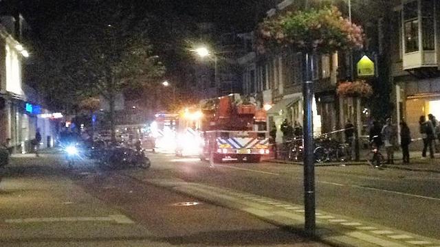 Opening 'De Pizzabakkers' op de Nachtegaalstraat uitgesteld na brand