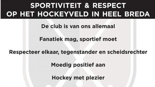 Bredase hockeyclubs sportiefste van Nederland