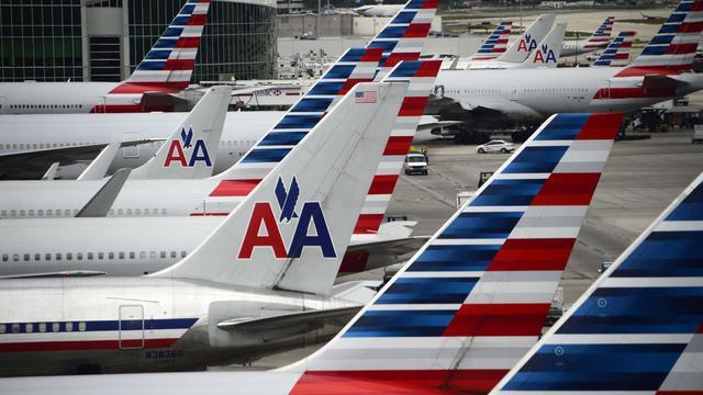 American Airlines houdt last van afzwakkende groei