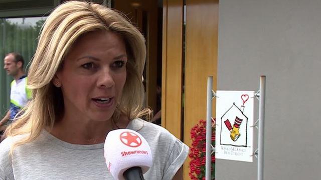 Leontien van Moorsel in actie voor Ronald McDonald-kindertehuizen
