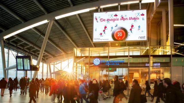 Foto's van willekeurige treinreizigers geëxposeerd op Utrecht Centraal